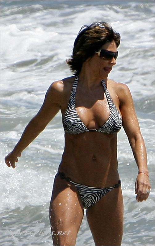 Very Lisa rinna hot All
