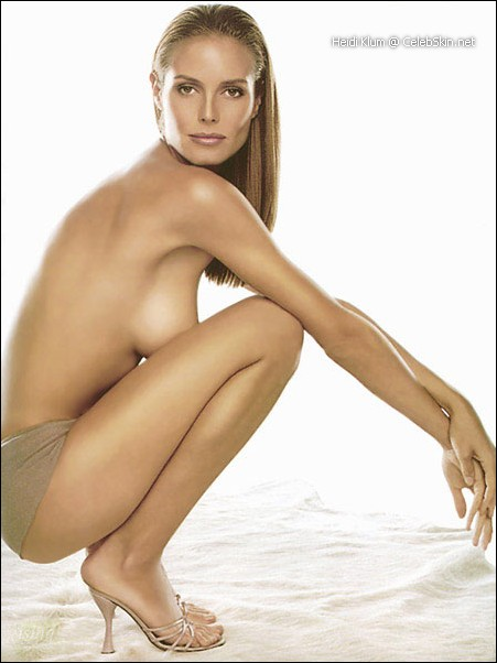 Arrasa el vdeo de Heidi Klum desnuda en la ducha