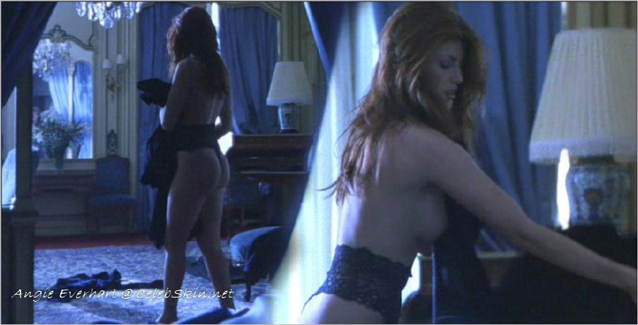Angie everhart nude skin review Prompt